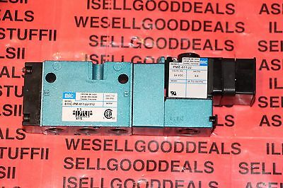 Mac 811C-PM-611JJ-152 Solenoid Valve 24VDC New