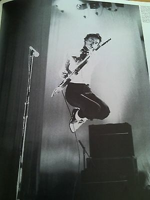Iconic Paul Weller The Jam 1977 Single Page Poster from Music Magazine 28x19cm