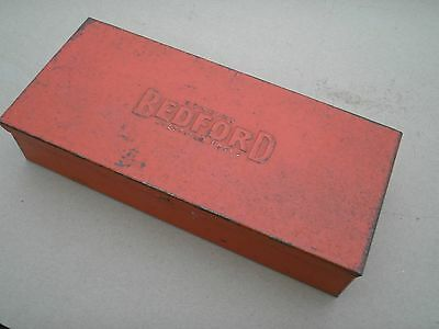 Bedford Tools Sheffield Tin Box / Socket Set Tin Vintage