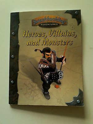 """d20 Source Book """"Swashbuckling Heroes, Villains and Monsters"""""""