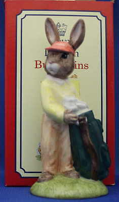 "Royal Doulton Bunnykins - ""Caddie"" - DB271 - Brand new in original box - Bargain"