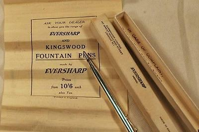 Vintage Eversharp1940's lead pencil with original box and paper (5)