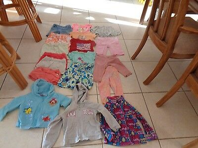 Girls 3T Clothing Lot of 18 items Disney,Old navy,Gymboree,Okie Dokie