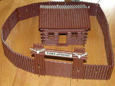 Vintage Fort Apache -  Made in West Germany - Western Cowboy & Indian Toy !!