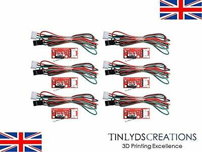 6x mechanical Endstop Switch on PCB & Cable - 3d printer/CNC Lever Microswitch