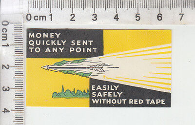 """money Quickly Sent To Any Point  Easily Safely Without Red Tape"""
