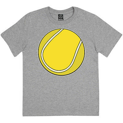 Large Tennis Ball Fashion Print Boys Wimbledon Grand Slam Kids T-Shirt