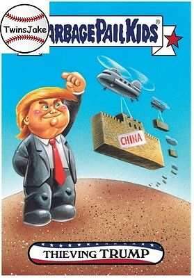Topps GPK disg-Race to the White House 130: Thieving Trump