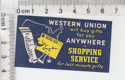 """WESTERN UNION will buy gifts for you ANYWHERE . SHOPPING SERVICE..."" Telegram"