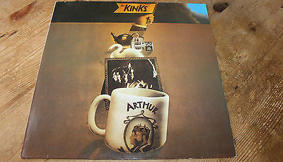 LP * The Kinks ‎Arthur or The Decline & Fall Of The British Empire PRT 243971-1