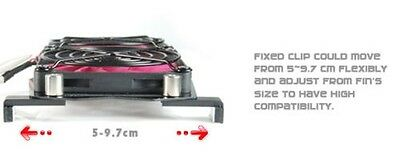 NEW Quiet Universal NVIDIA,ATI,AMD PC Graphic Card Replacement 80mm Cooling Fan