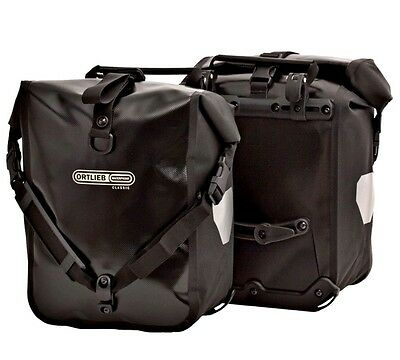 Ortlieb Front Roller Classic Panniers (Black)