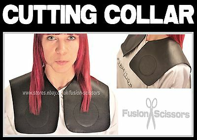 Professional Hairdressers Cutting Collar Black Secure Fit And 100% Water Proof