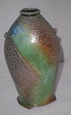 Vintage Art Studio Pottery Signed Vase