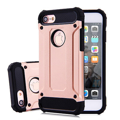 NEW Slim Armor Case Heavy Duty Shockproof TPU Cover for iPhone 5 5s SE 6 6s Plus