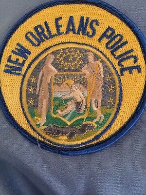 NEW ORLEANS LOUISIANA SHOULDER PATCH  Circa 1991