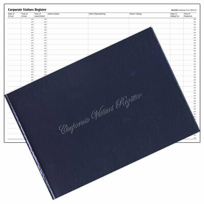 Wildon 250W Corporate Visitors Book 56 Pages