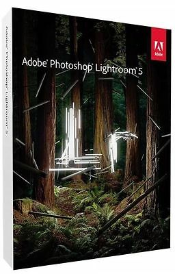 Adobe Photoshop Lightroom 5 for Mac/PC Full Retail pack with DVD