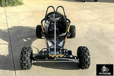 2017 200CC 6.5HP Go Kart Dune Buggy ATV QUAD 4 Stroke Upgraded  Adult/Kids Sizes