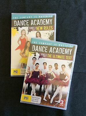 Dance Academy Series 3 Part 1 And 2 DVD