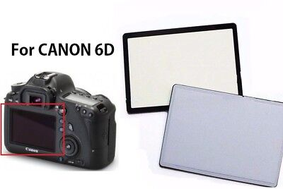 Repair Part Display Outer Glass Protector For Canon EOS 6D LCD Screen With tape
