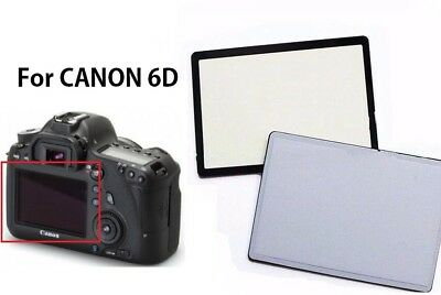 Window Display Outer Glass Protector For Canon EOS 6D LCD Screen With tape
