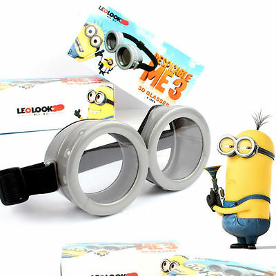 Minion Goggles Goggle Eyes Glasses Fancy Dress Costume Fun Party Accessory Toy