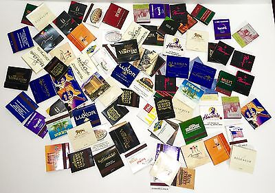 Vintage Las Vegas Casino Hotel Restaurant Matchbook Lot 90+ Unstruck New