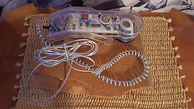 Vintage 1980s Tozai Clear Wall House Phone Rare No Discoloration