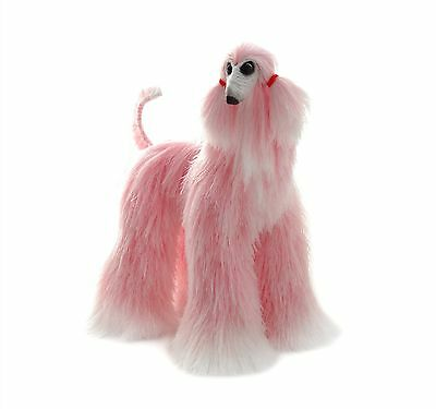 Collectibles Animals, pink white afghan hound, cute plush toy, stuffed animals,