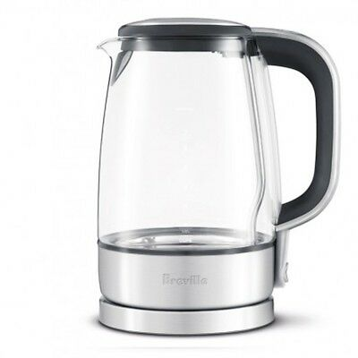 NEW BREVILLE BKE595XL THE CRYSTAL CLEAR ELECTRIC KETTLE 7 Cup 1.7 Liter 57oz