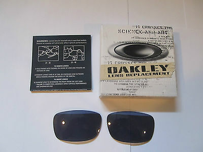 Authentic Oakley Fives Squared/ 3.0 (Asian Fit) Replacement Lenses. GREY  13-598