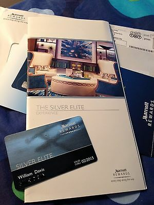 Marriott Silver membership with promotion: a free night after 2 paid stays