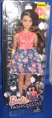 Barbie Collector  Fashionistas Curvy Barbie Doll #26 Spring Into Style, New