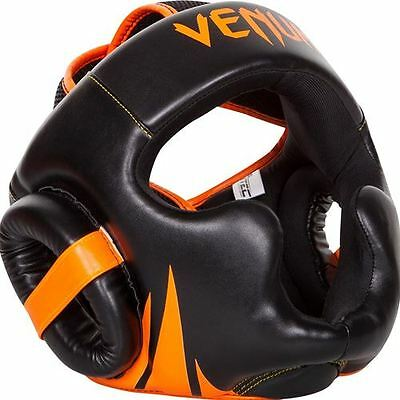 Venum Challenger 2.0 Headgear  - Orange/Black