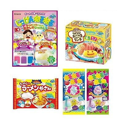 Kracie 5 pcs Making Poppin Cookin DIY Gummy Candy Bundle Set Neruneru Zikken