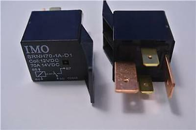 2 x 70 AMP AUTOMOTIVE RELAY, 12V COIL, IMO SRNH70-1A-D1, SPLIT CHARGE, CAR VAN