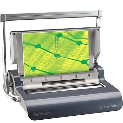 Fellowes Binding Machine Quasar Wire With Starter Kit (5217401)