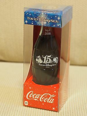 Tokyo Disney Sea 15th Anniversary Coca Cola Bottle Japan Limited Mickey Unopened