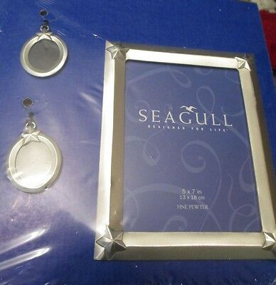 Seagull Fine Pewter Star Fish  Picture Frame