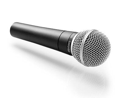 Shure SM58 Dynamic Vocal Handheld Live Microphone (inc clip, bag, cable)