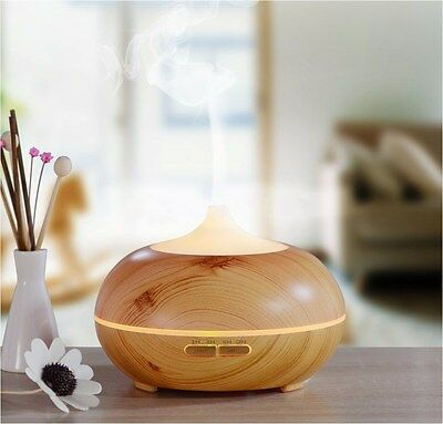 300ml Ultrasonic Essential Oil Air Humidifier LED Aroma Aromatherapy Diffuser