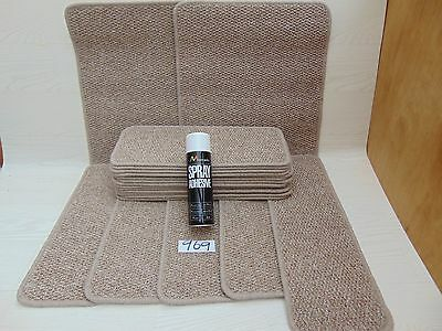 Stair pads / tread 19 off and 2 Big Mats with a FREE can of SPRAY GLUE  (969-3)