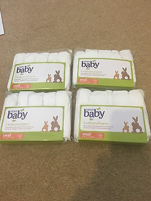 4 Packs Baby Waterproof Nappy Over Nappies Washable Cover = 20 Pants Size Small