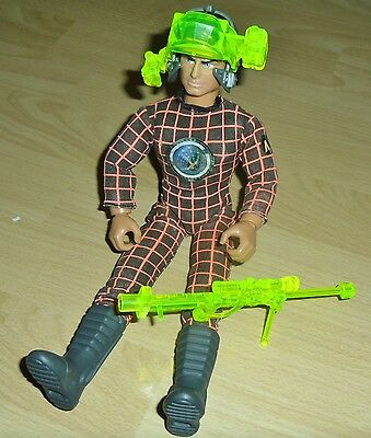 ACTION MAN V.R. VISION FIGURE WITH EAGLE EYES 1993 CLOTHING ACCESSORIES 1990's