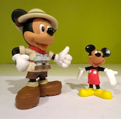 Disney Mickey Mouse Toy Figures Cake Toppers