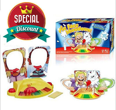 Pie Face Showdown New Game Dual Challenge ready to ship Family Time Brand New