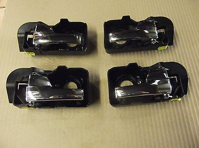 Ford Mondeo Mk3 2001-07 Set 4 Interior Chrome Door Handles Internal Upgrade