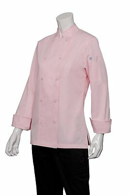 Chef Works Cwlj-pin Women's Executive Chef Coat Pink, Size S