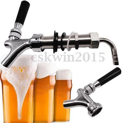 G5/8 Thread Draft Beer Faucet With 92.5mm Long Shank Combo Kit For Kegerator Tap